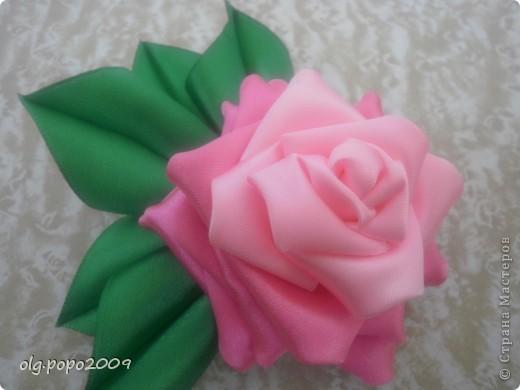 цветочки канзаши фото 2