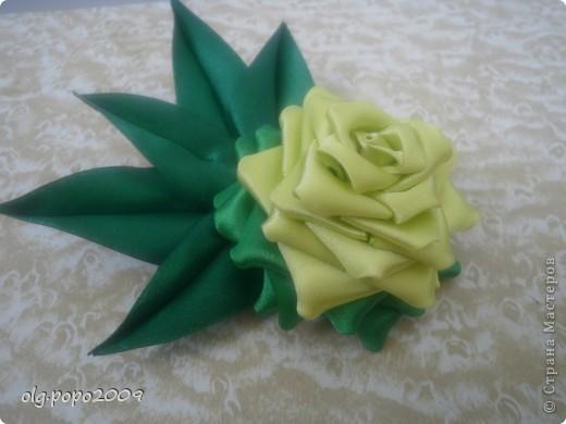 цветочки канзаши фото 3