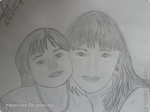 рисунок друга с фото фото 2