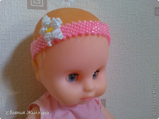 Ободок для куклы фото 1