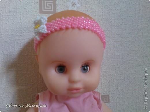 Ободок для куклы фото 2