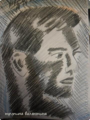 рисунок друга с фото фото 11