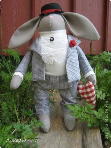 Кролик Сеня) Очень воспитанный и скромный)) фото 9