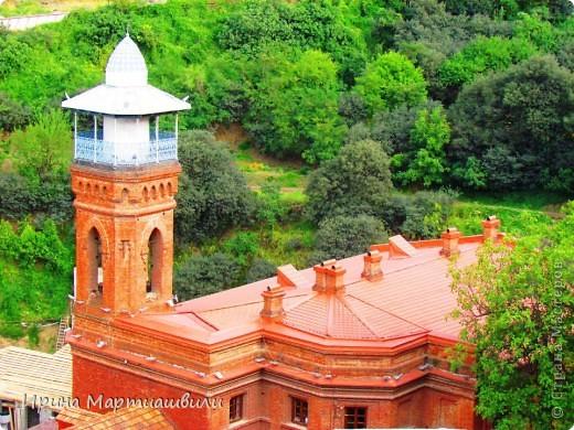 вид на р.Куру и Тбилиси со стен старинной крепости фото 22