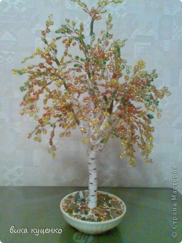 бисероплетение деревья из бисера красивые фото