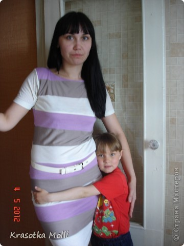 платье из старых футболок) фото 1