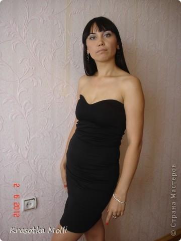 платье из старых футболок) фото 7