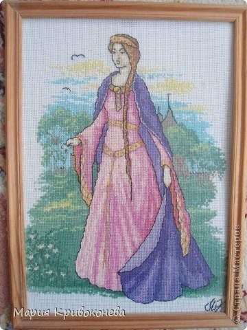 Вышивка крестом Принцесса