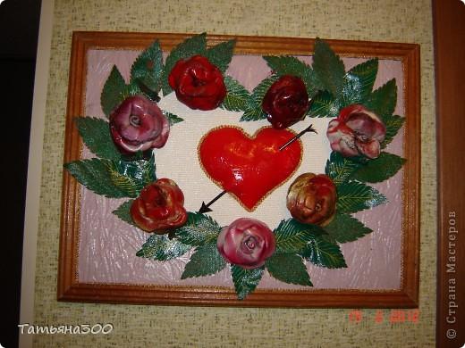 Это сердечко я сделала в подарок нам с мужем, на 25-ти пятилетие супружества, ему понравилось. фото 1