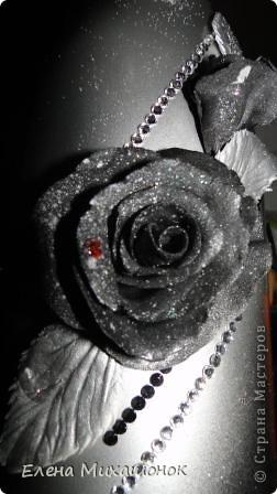 Бутылка + керамическая флористика фото 4