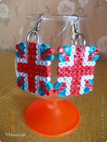 Радужные серьги для доченьки! фото 2