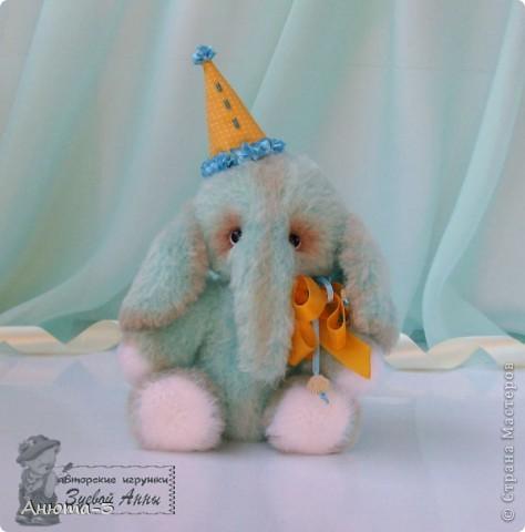 Конфетный слоник.