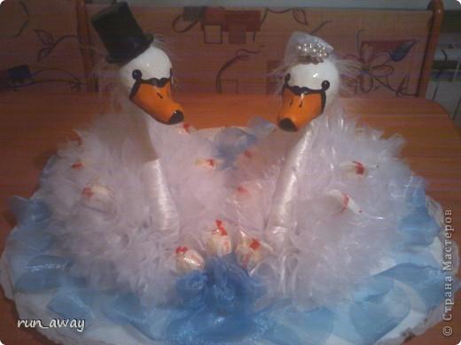 извиняюсь за качество, фотографировалось на телефон и ночью, а на утро они улетели на свадьбу=) фото 1