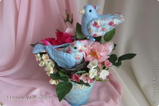 Пташки в цветах фото 6