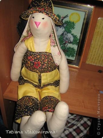 Тильда-Зайка.  фото 1