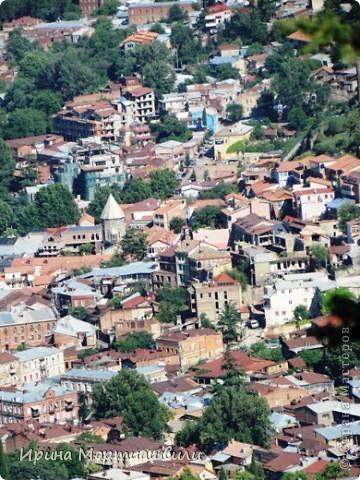 вид на р.Куру и Тбилиси со стен старинной крепости фото 5