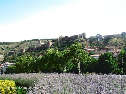 вид на р.Куру и Тбилиси со стен старинной крепости фото 7
