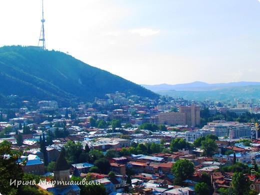 вид на р.Куру и Тбилиси со стен старинной крепости фото 12