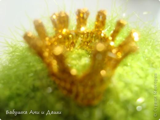 Царевна связана из пряжи-adelia Brilliant фото 3