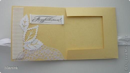 Всем жителям Страны Мастеров, добрый вечер! И снова я с конвертами для дисков со свадебными фотографиями. фото 9