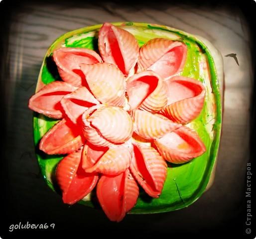 Вазочка с цветочками Сакуры. фото 8