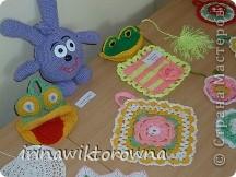 """Моя внучка Катюшка показывает пальчиковые игрушки """"Осьминожки"""", которые сделали ребята 3-4 классов. фото 6"""