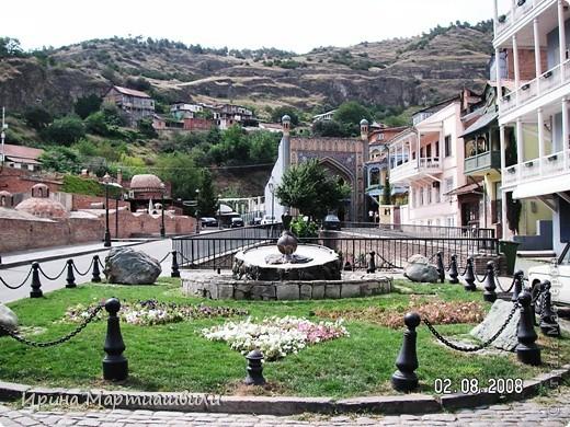 вид на р.Куру и Тбилиси со стен старинной крепости фото 17