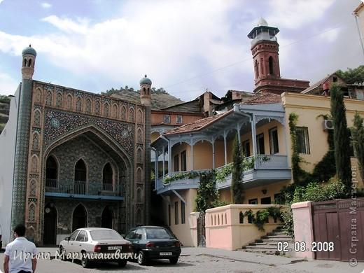 вид на р.Куру и Тбилиси со стен старинной крепости фото 18