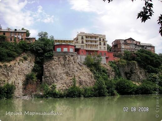 вид на р.Куру и Тбилиси со стен старинной крепости фото 19