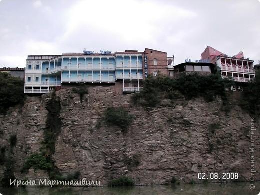 вид на р.Куру и Тбилиси со стен старинной крепости фото 20