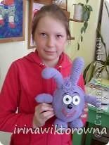 """Моя внучка Катюшка показывает пальчиковые игрушки """"Осьминожки"""", которые сделали ребята 3-4 классов. фото 8"""