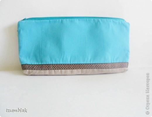 """Не могу остановиться, вышиваю совушек :)) Так и появилась эта косметичка, подходящая к сумке """"Совушки""""(http://stranamasterov.ru/node/377993)  фото 5"""