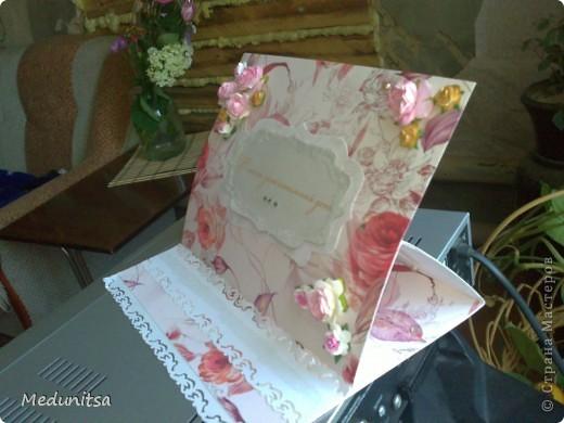 вот такая смастерилась открытка для женщины фото 3