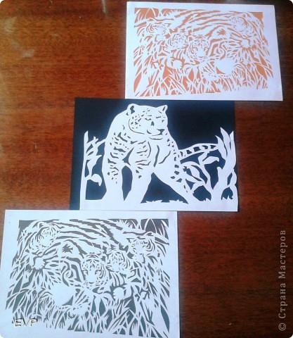 Хотелось сделать, в продолжении африканской темы http://stranamasterov.ru/node/388326 , теперь хищников но нашла только две картинки. поэтому пока не триптих, но всё же покажу.  фото 4
