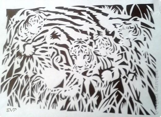Хотелось сделать, в продолжении африканской темы http://stranamasterov.ru/node/388326 , теперь хищников но нашла только две картинки. поэтому пока не триптих, но всё же покажу.  фото 2