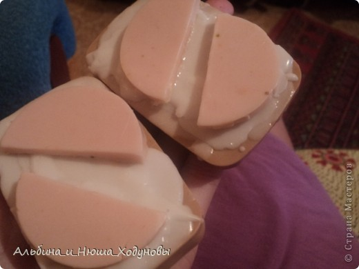 Вот такие бутерброды :) Наверное очень вкусные :) фото 4