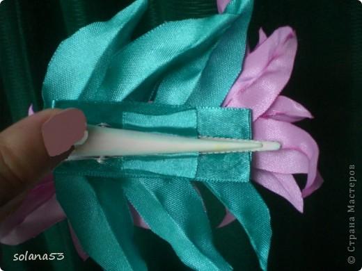 первый опыт:лилии и резиночка фото 4