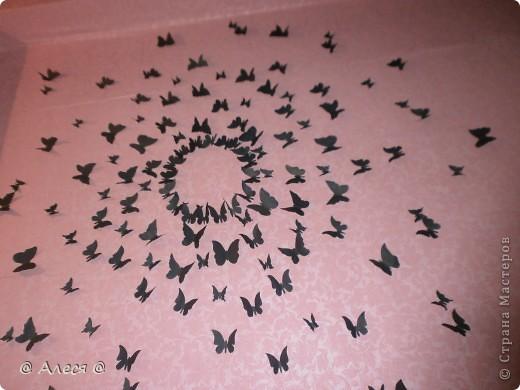 Бабочки на стене фото 2