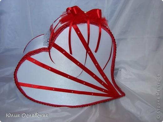 """Свадебный набор """"Любящее сердце"""". фото 2"""