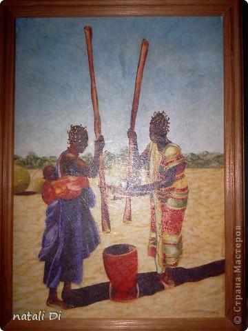 из одной рисовой бумаги получилось три картины фото 2