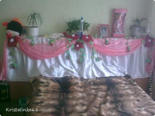Юбка на свадебный стол фото 1