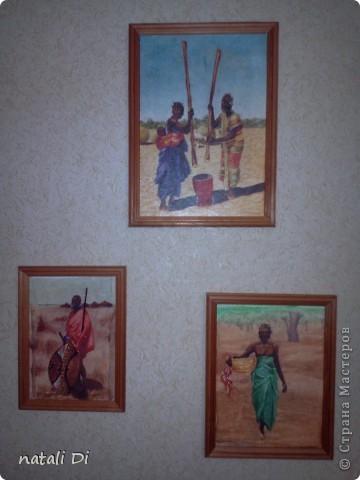 из одной рисовой бумаги получилось три картины фото 1