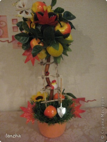 И вновь, здравствуйте, мои дорогие жители СМ!!!!!!!! У меня сегодня ещё один фруктовый топиарчик. фото 4