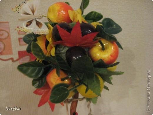 И вновь, здравствуйте, мои дорогие жители СМ!!!!!!!! У меня сегодня ещё один фруктовый топиарчик. фото 6