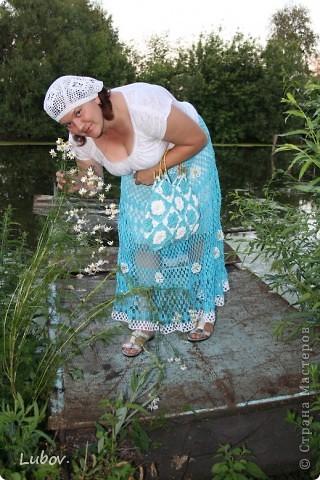 """Ажурная юбка """" Небо в ромашках"""" фото 20"""