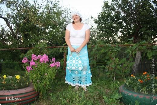 """Ажурная юбка """" Небо в ромашках"""" фото 23"""