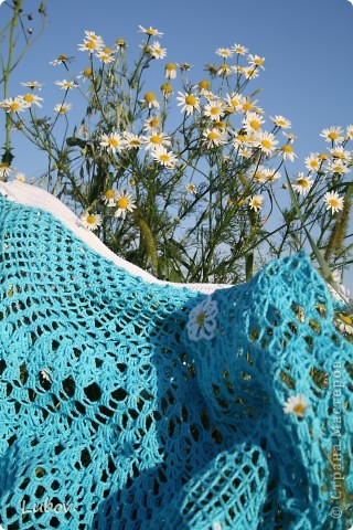"""Ажурная юбка """" Небо в ромашках"""" фото 34"""