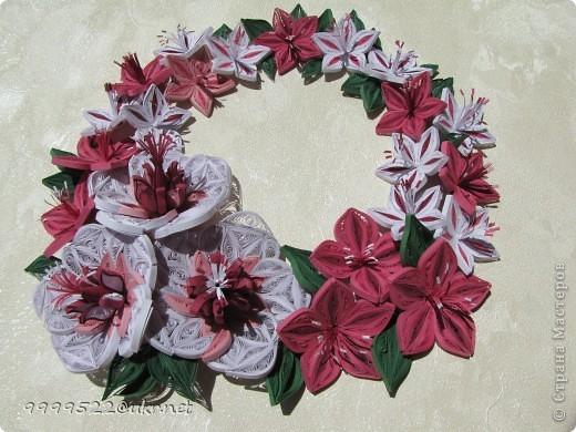 Это - сама нежность, волшебные цветочки делала на День Рождения своей сестричке.  фото 1