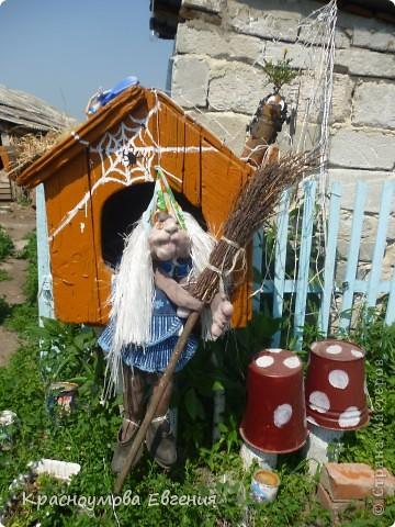 Добро пожаловать на наш уютный двор! Всю эту красоту мы сделали вместе с мамой и папой. Это наш уютный домик))) фото 2