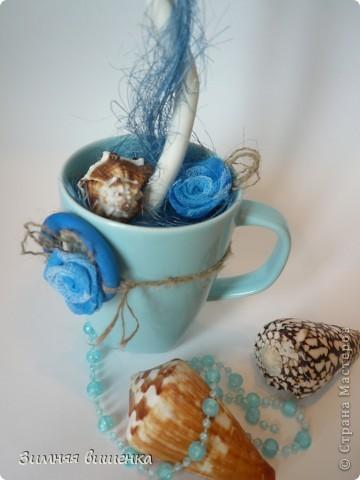 Привет!!!!!!!!!!! и снова я с кофе))) Теперь с бабочками и морским)))) фото 6